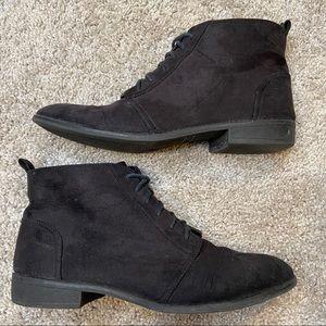 H&M Women's black ankle bootie Sz 9.5